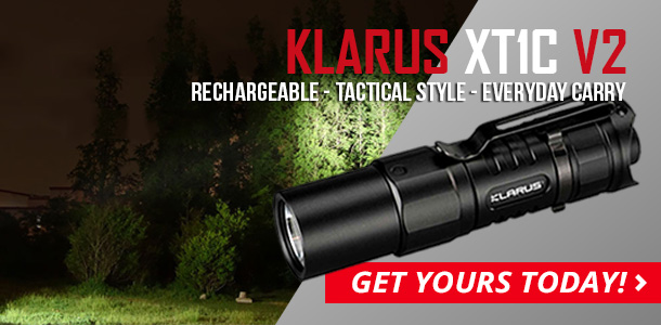 Klarus XT1C V2 EDC Flashlight