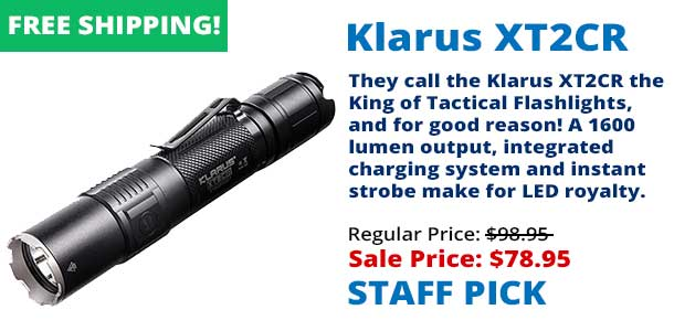 Klarus XT2CR Tactical LED Flashlight