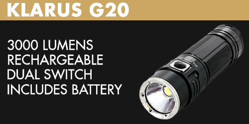Klarus G20 LED Flashlight