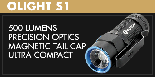 Olight S1 LED Flashlight
