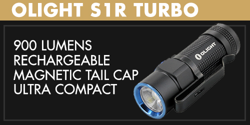 Olight S1R Turbo LED Flashlight