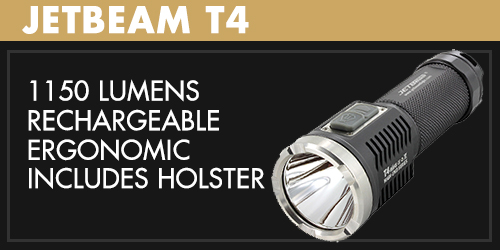 Jetbeam T4 LED Flashlight
