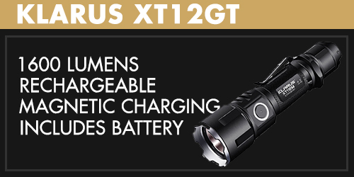 Klarus XT12GT LED Flashlight