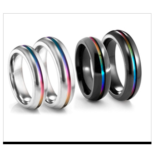 Shop Rainbow Titanium Jewelry