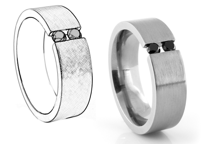 Design Your Own Mens Wedding Band