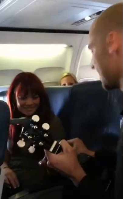Super Cool Airplane Proposal Story