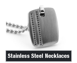 Mens Stainless Steel Necklaces