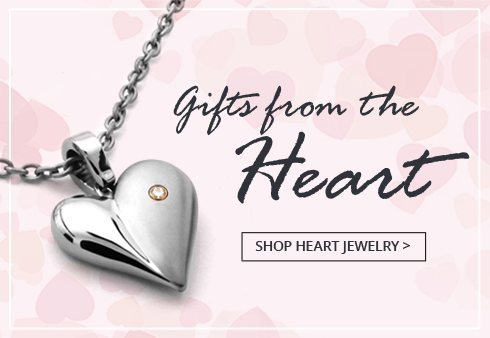 Shop Titanium Heart Jewelry for her
