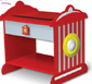 Fire Engine Kid Furniture