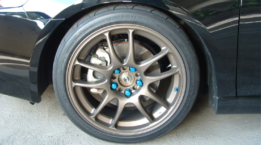 Bronze Rims With Blue Lug Nuts Nasioc