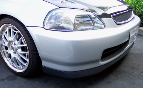 Jdm 96 98 civic sir front lip publicscrutiny Choice Image