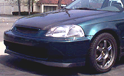 Jdm 96 98 Civic Sir Front Lip