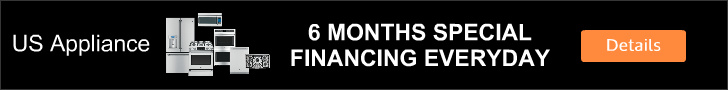 US Appliance 6 Month Everyday Financing