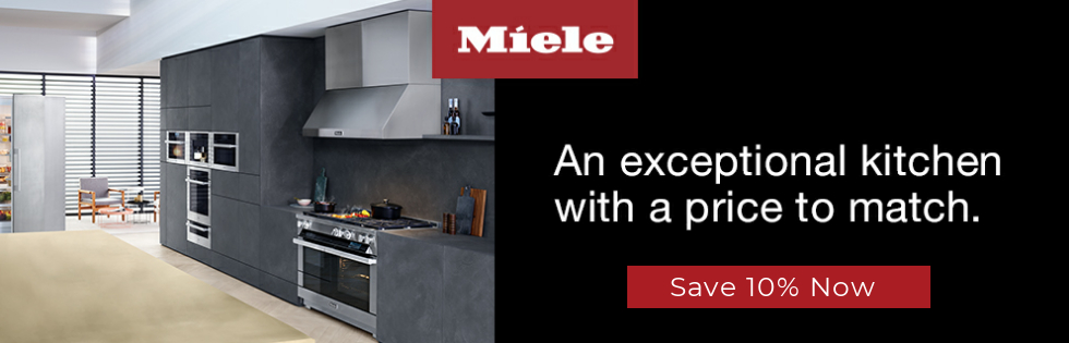 Miele appliance rebate save 10 percent