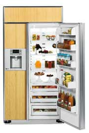 pic of built-in refrigerator