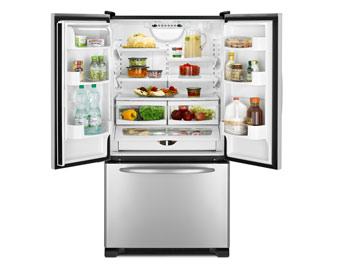 pic of french door refrigerator