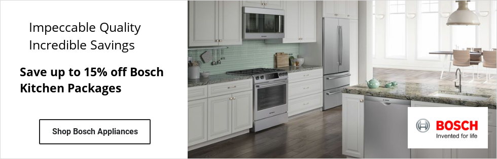 Bosch Appliance Rebate save up to 12 percent