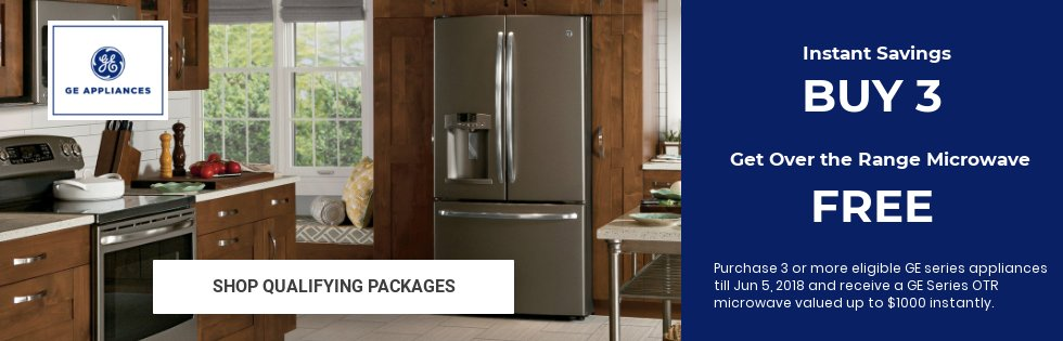 GE Packages Free Microwave