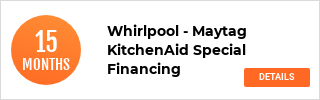 Whirlpool, KitchenAid, Maytag Finance Offer