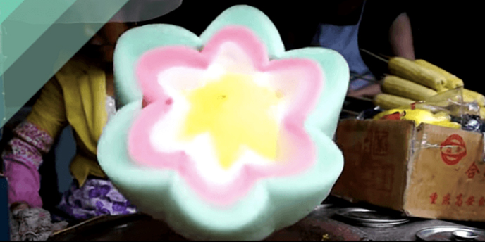 Amazing Cotton Candy Flower