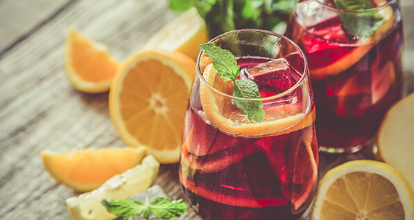 Sparkling Holiday Punch