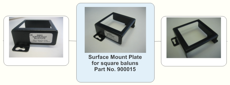 Surface Mount Plate for square baluns Part No. 900015