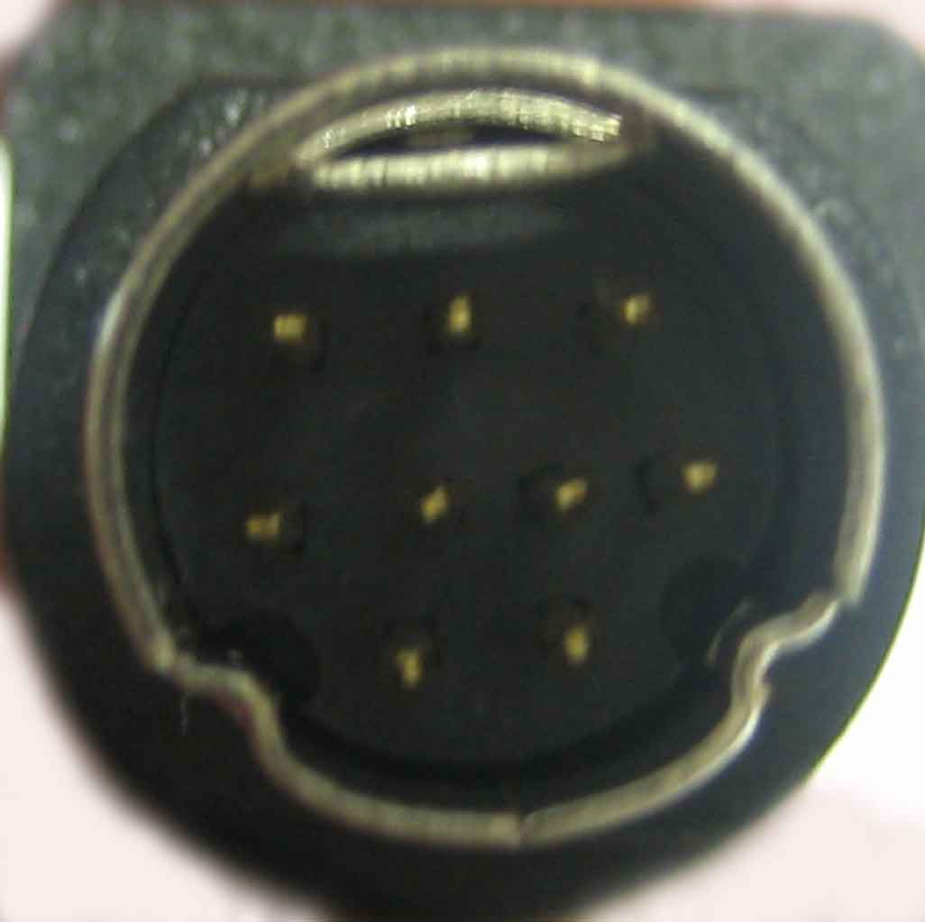 Male 9-pin connector