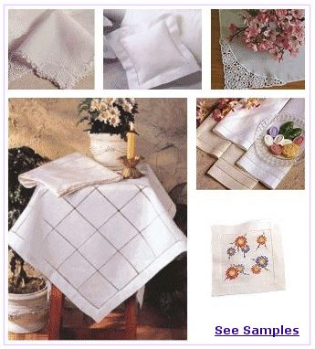 Wholesale Linens Embroidery Supplies