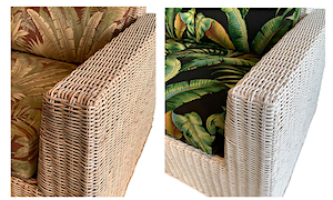 Verona Wicker Collection Finishes