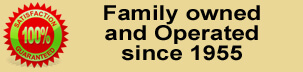 Family Owned and Operated