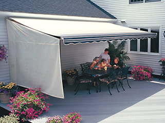 Side Weatherbreaker Panels They Help Block 60 Of Sun Wind And Mist From Coming In The Front Sides Your Awning Yet Let Filtered Light