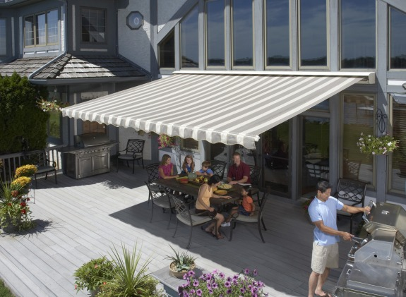 Keep Your Deck Or Patio Up To 20 Degrees Cooler And Relax In Shade Comfort Under New SunSetter Retractable Awning