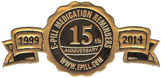e-pill 15th ANNIVERSARY 1999-2014