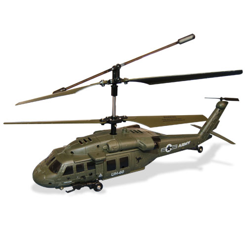 Apache Commander RC Helicopter
