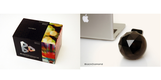 Black Diamond Mood Lamp iPhone Charger