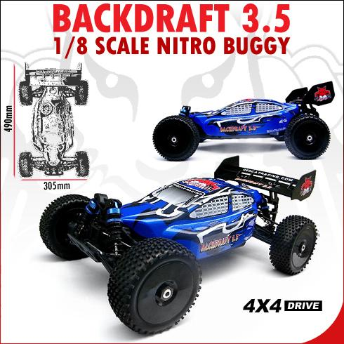 Redcat BackDraft 3.5 Nitro