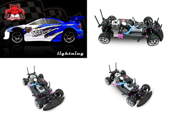 Redcat lightning rc car blue