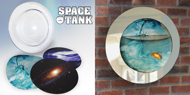 Space fish tank