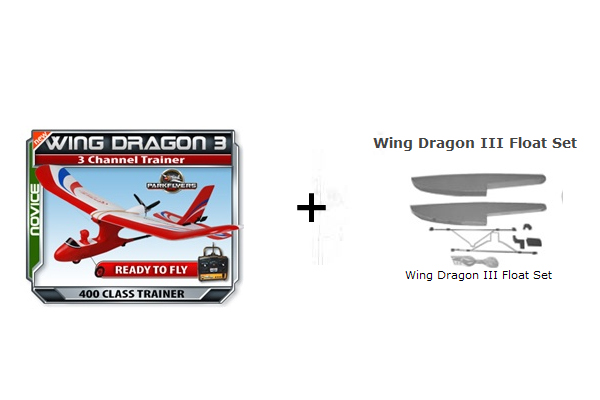 wing dragon with float set