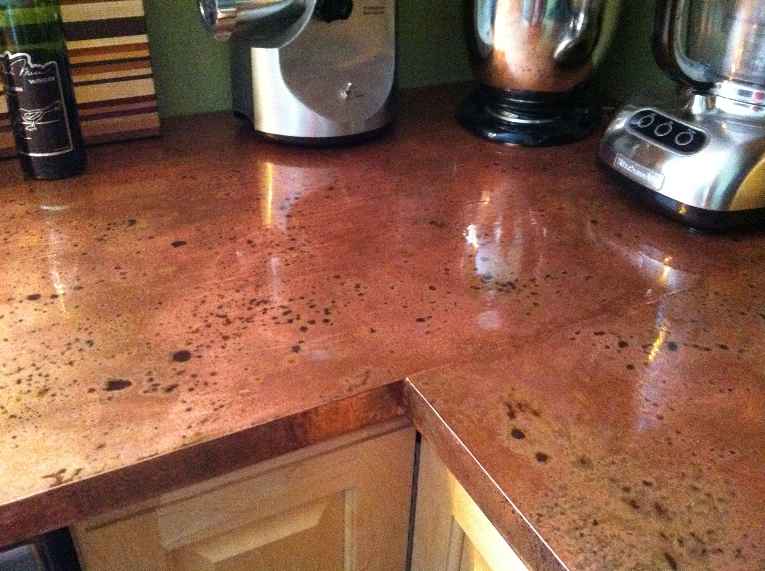 Copper Counter Top