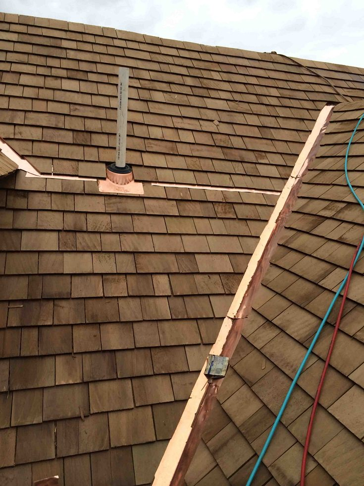 ... Roofing Copper Flashing