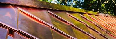 How to Make Copper Roof Tiles