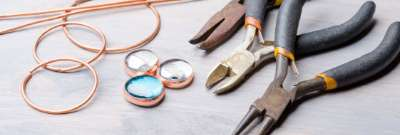 Working with copper sheets in arts, crafts, and jewelry making