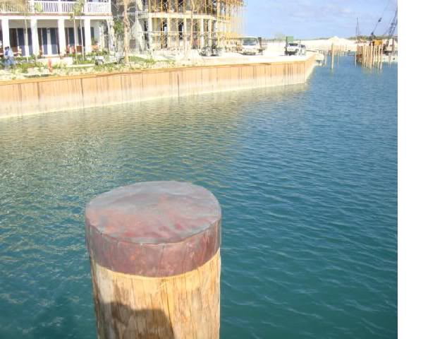 copper pier cap