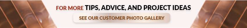 Customer Copper Photo Gallery