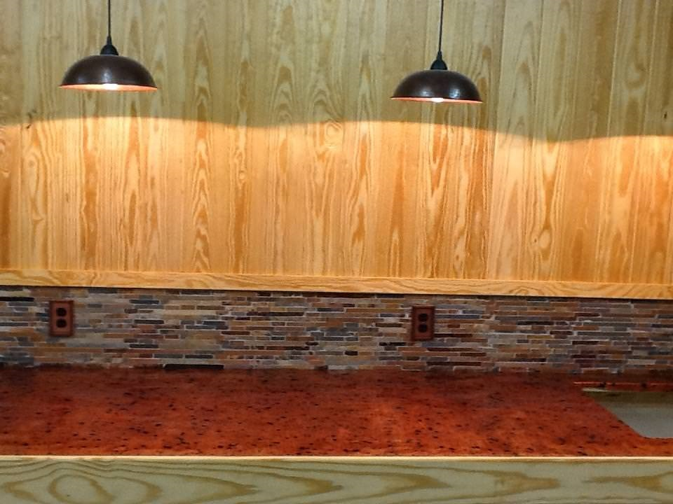 copper bar top diy