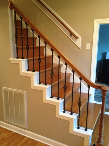 Wrought Iron Staircase Balusters