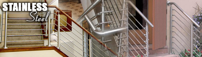 Stainless Steel Cable Railing - Individual Stainless Parts