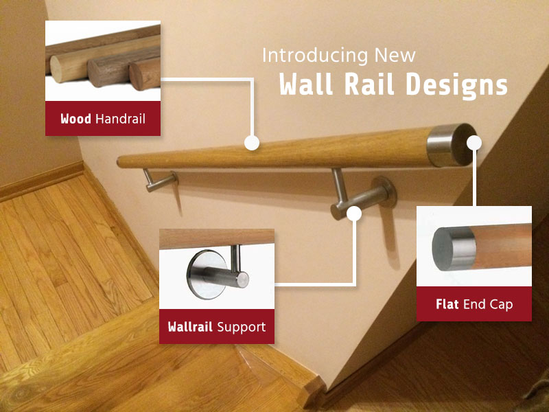 Introducing New Wall Rail Designs