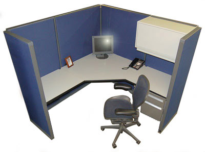 1 Used 6x6 Steelcase Cubicles W New Fabric Ebay